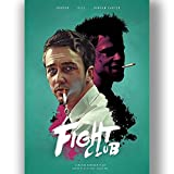 Box Prints Fight Club Film Vintage Retro-Stil Poster