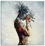 Cortesi Home CH-CA181823 'Deliberation' By Mario Sanchez Nevada Gisele Canvas Wall Art, 18' X 18',
