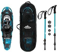 Cascade Mountain Tech Alptrek Snowshow Kit