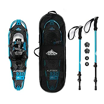 Cascade Mountain Tech Alptrek Snowshoe Kit