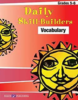 Daily Skill-builders For Vocabulary (Daily Skill-Builders English/Language Arts Series (5-6) Ser)