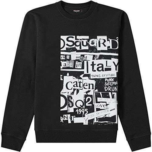 DSQUARED2 Herren Sweatshirt Nero XL