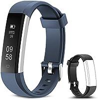 Rayfit Pulsera Actividad Reloj Inteligente Fitness Tracker Podómetro Monitor de Sueño Contador de Calorías Pasos...