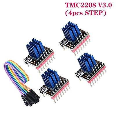 BIGTREETECH DIRECT TMC2208 V3.0 DIY Upgrade Stepper Motor Driver for SKR V1.3 Mini E3 Ramps 1.4/1.6 3D Printer Board 3D Printer Parts (4pcs?