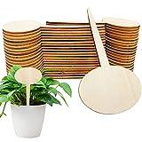 Etiquetas de Plantas de Bambú,Bambú Etiquetas De Plantas,Maceta Marcadores Etiquetas,Etiqueta de planta,Etiqueta de madera,palos de polo de madera natural,Planta Etiquetas Madera (A)