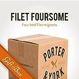 Porter & York Brand Meats - Filet Foursome Gift Box