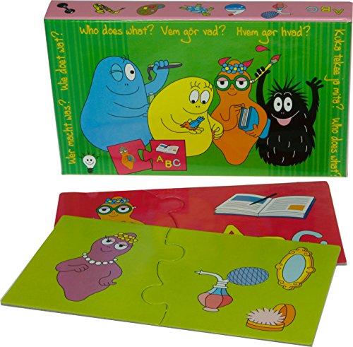 Barbapapa Juego Educativo ¿Quién Hace qué (Barbo Toys 4445)