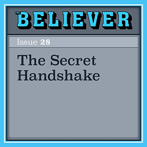 The Secret Handshake audiobook cover art