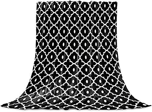 Geométricas Textura Tirar de la Manta, de Franela Manta de Lana Suave, Acogedor Aproximada Cómoda, Cálida Lindo Manta Liviana para Adultos Bebé de la Microfibra de la Siesta Manta para el,40'x50'