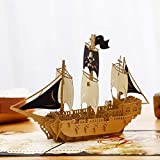 Liif Pirates Ahoy Father's Day Pop Up Card...