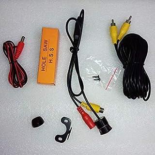 كاميرا لاصطفاف السيارة للخلف 1.8 ملم بزاوية 170 درجة 1/4 انش PC1030 متوافقة مع جميع السيارات - CMX-001