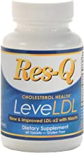 Res-Q LeveLDL (formerly LDL-x2 With Niacin) Cholesterol Support