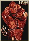 DUDUANLIAN Leinwand Poster Filmplakate Django Unchained