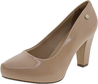 Sapato Feminino Salto Alto Via Uno - 321002 Bege