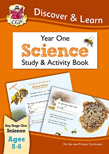 KS1 Discover & Learn: Science - Study & Activity Book, Year 1 (CGP KS1 Science)