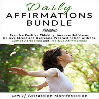 Daily Affirmations Bundle audiobook cover art