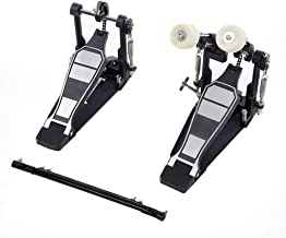 Drums Pedal, Double Bass Dual Foot Kick Pedal Percussion Drum Set Accessories for Music Lover Gift