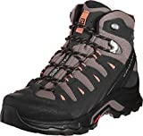 Salomon Quest Prime GTX W, Botas de Senderismo Mujer, Marrón (Deep Taupe/Phantom/Tawny Orange), 39 1/3 EU