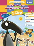 Cahiers de vacances de Loup - De la petite à la moyenne section (ed. 2020)