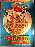 Karlsson auf dem Dach - Astrid Lindgren - Filmposter A1