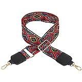 Crossbody Strap for Purses Replacement Adjustable Guitar Multicolor Style Handbag Straps STP-1014MUTI