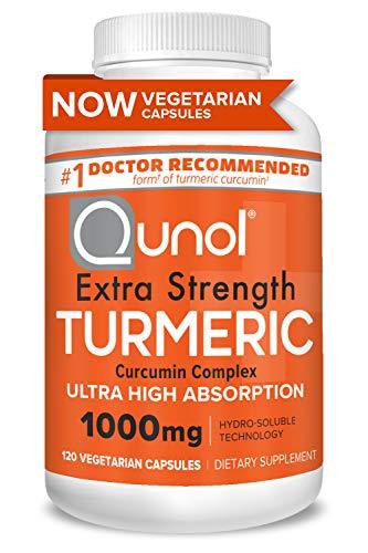 Turmeric Curcumin Capsules, Qunol with Ultra High Absorption...