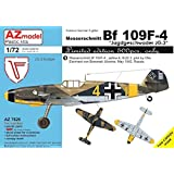 AZモデル 1/72 メッサーシュミットBf109F-4 JG.3 リミテッドエディション プラモデル AZM7626