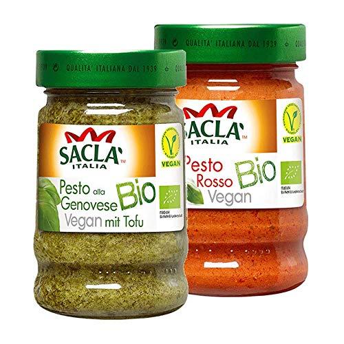 Saclá Pesto Vegan Probierpaket 380g (2x190g)