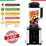 Balzano 1800W Professional Commercial Grade Power Blender (Silver)