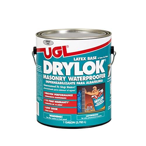 United Gilsonite Laboratories DRYLOK-27613 27613 GL in/EX LX Gry Paint, 128 Fl Oz
