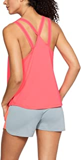 Under Armour Armour Sport Strappy Tank For Women, Orange, M (Under Armour)