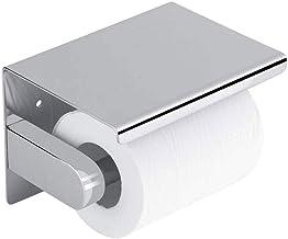 XYZMDJ RVS papieren handdoekenrek - huishoudelijke badkamer toilet mobiele telefoon houder rolhouder opbergrek toiletpapie...
