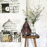 Gadgy ® Orientalische Lampe (36 cm) l Für Kerzen und elektrische Lichter l Innen und Außen Deko l Windbeständig l Marokkanisch Arabisch Orientalisch l Handgemacht - 6