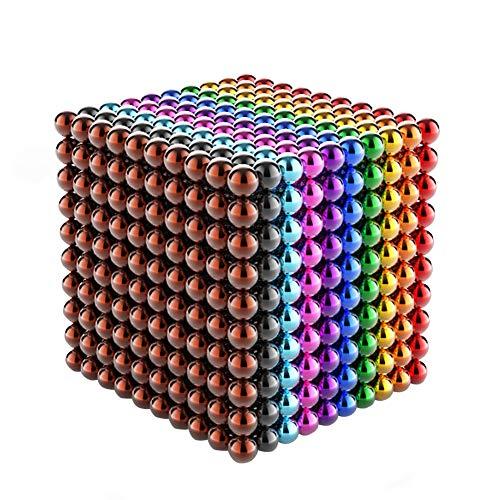 Dawnzen Magnetkugeln 3 Mm 1000 Stück, DIY Children's Educational Toys Bildung, 3D Puzzles Puzzle Spielzeug Für Intelligenzentwicklung