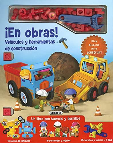 ¡En Obras! Vehículos y Herramientas de construcción (Tuercas y tornillos)