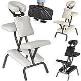 TecTake Chaise de Massage avec Sac de Transport - diverses couleurs au...