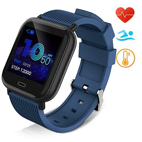 Huyeta Reloj Inteligente Impermeable IP67 Smartwatch