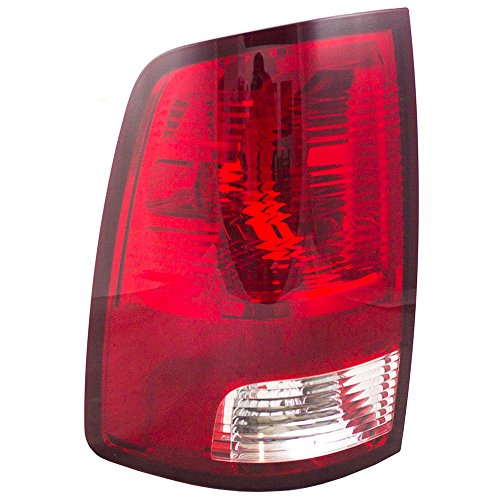 Drivers Taillight Tail Lamp Lens Replacement for 09-10 Dodge Ram & 11-18 RAM Pickup Truck 55277415AF