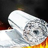 Manta ignífuga de algodón, aislamiento de chimeneas manta de fibra de cerámica de aluminio, manta de aguja de silicato – Lámina de aluminio