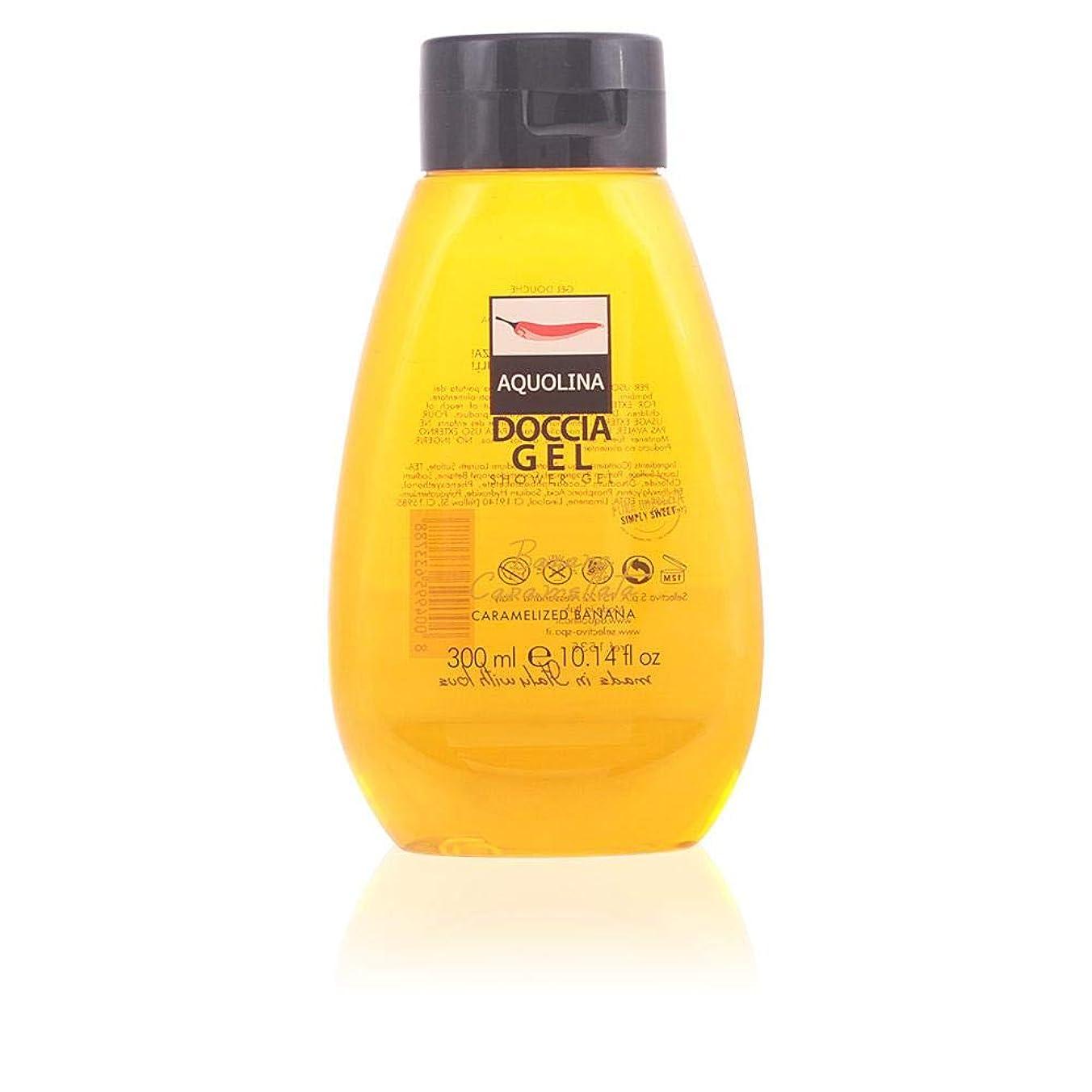 合成シャッター持続的【アクオリナ】トラディショナル シャワージェル バナナ 300ml [並行輸入品]
