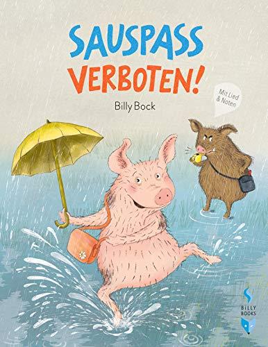 Buchseite und Rezensionen zu 'SAUSPASS VERBOTEN!' von Billy Bock