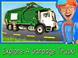 Explore A Garbage Truck with Blippi - Garbage...