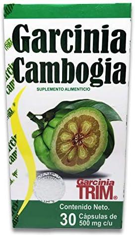 Garcinia Cambogia 30 Capsulas 500 Mg Garcinia Trim 100 Natural Quema Grasa product image