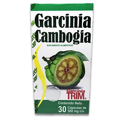 Garcinia Cambogia 30 Capsulas 500 Mg *Garcinia Trim* 100% Natural Quema Grasa!