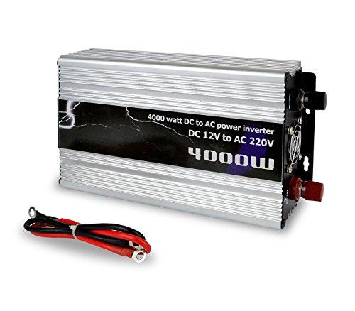 MEDIA WAVE store Inverter N-4000W Multiuso per Auto...