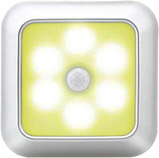 Lurrose Lâmpada de sensor de 1 unidade LED lâmpada de indução de corpo humano Lâmpada de sensor de casa inteligente Luz el...