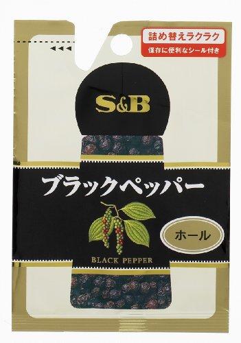 S&B 袋入りブラックペッパー(ホール) 14g×10個