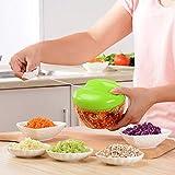 Knoblauchpresse, Knoblauchschneider, manuelle Knoblauchmühle,Gemüseschneidemaschine,Obst- und Gemüsebrecher,Vielseitig: Babynahrungsergänzungsmittel, sehr gut für die Hausmannskost geeignet