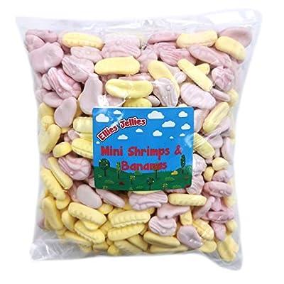 ellies jellies® mini shrimps/bananas 2kg bag Ellies Jellies® Mini Shrimps/Bananas 2kg Bag 51P0dJxYMRL