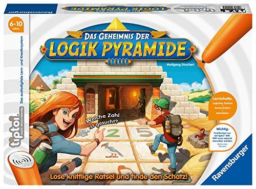Ravensburger tiptoi 00042 - Das Geheimnis der Logik-Pyramide / Lernspiel von Ravensburger ab 6 Jahren / Löse knifflige Rätsel und finde den Schatz!